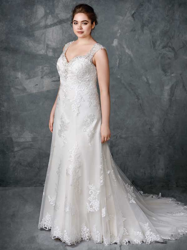 Kenneth Winston Wedding Dress - Feme