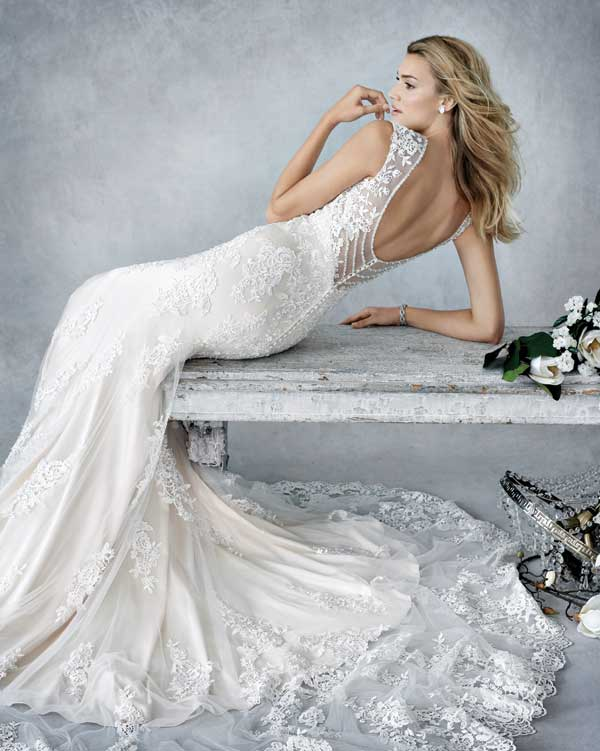 Kenneth Winston Wedding Dress - BE 445