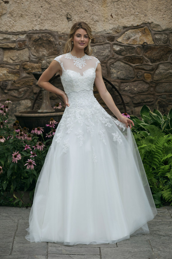 Sincerity Bridal Wedding Dress Style 44050