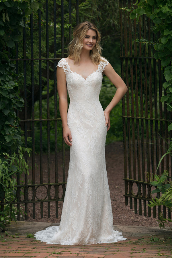 Sincerity Bridal Wedding Dress Style 44053