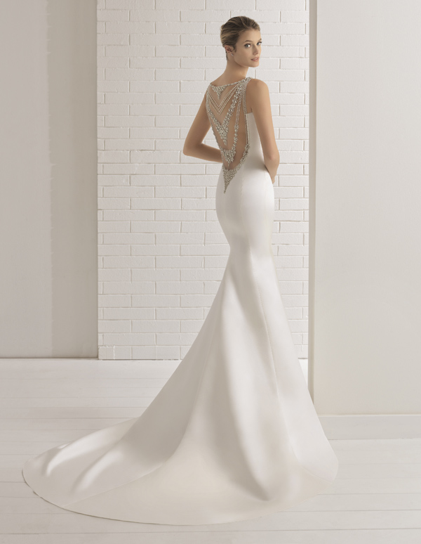 Aire Barcelona Wedding Dress Bronce