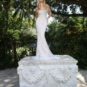 Ashley & Justin Wedding Dress 2018 Style No 10551