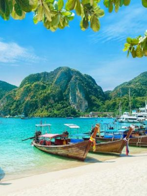 Phi Phi in Thailand Honeymoon