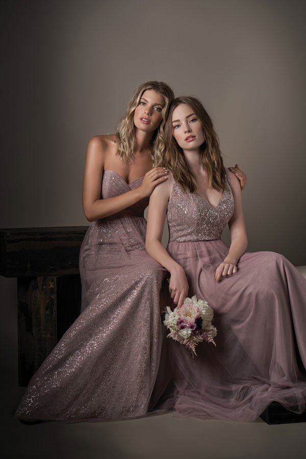 Jasmine Bridesmaids Dresses 194001 & 194002