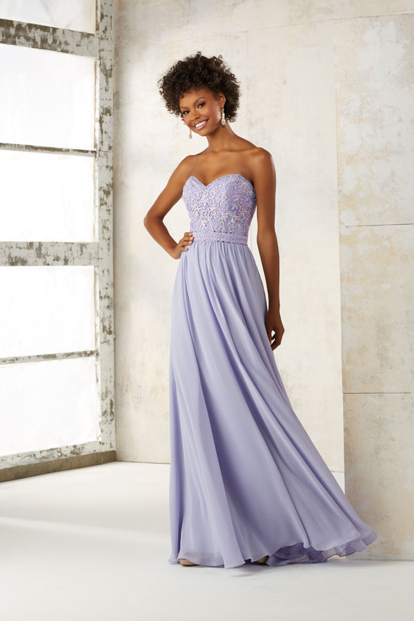 Mori Lee Bridesmaid 21501