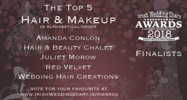 Irish Wedding Diary Awards 2018 Beauty