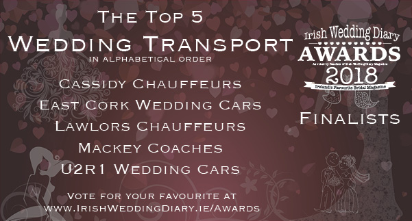 Irish Wedding Diary Awards 2018 Wedding Transport