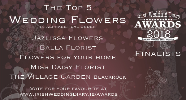 Irish Wedding Diary Awards 2018 Wedding Flowers