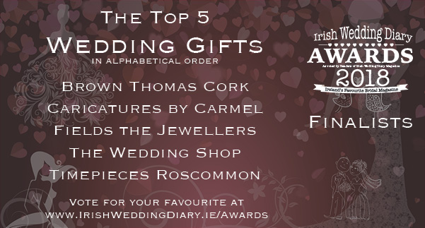 Irish Wedding Diary Awards 2018 Wedding Gifts