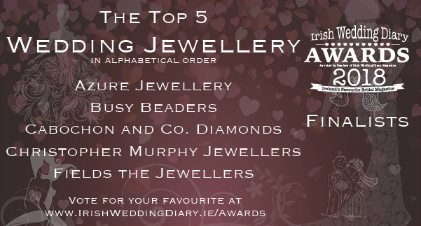 Irish Wedding Diary Awards 2018 Jewellery
