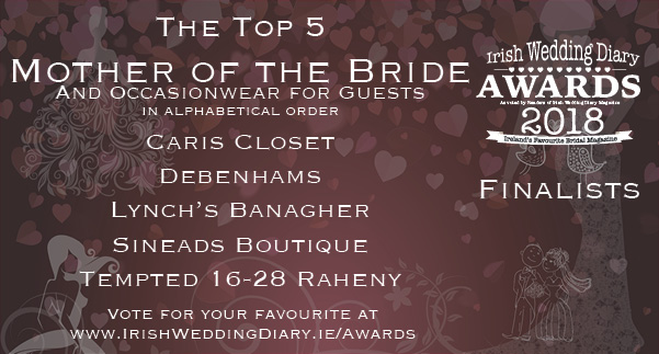 Irish Wedding Diary Awards 2018 Mother of the Bride