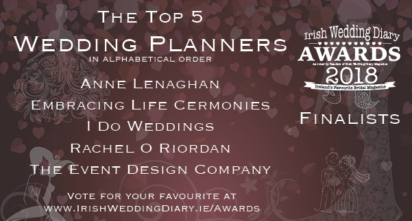 Irish Wedding Diary Awards 2018 Wedding Planners