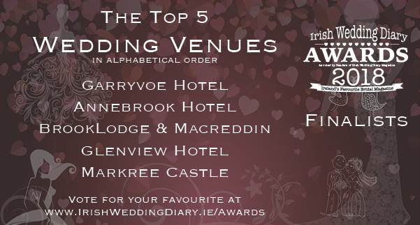 Irish Wedding Diary Awards 2018 Wedding Venues