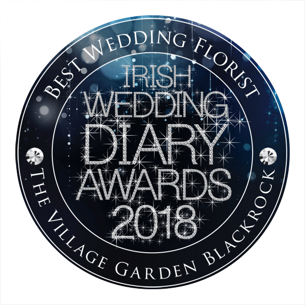 The Village Garden Blackrock - Best Wedding Florist - Irish Wedding Diary Awards 2018