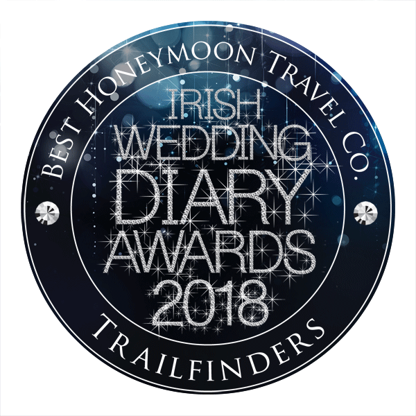 Trailfinders - Best Honeymoon and Wedding Travel Company - Irish Wedding Diary Awards 2018