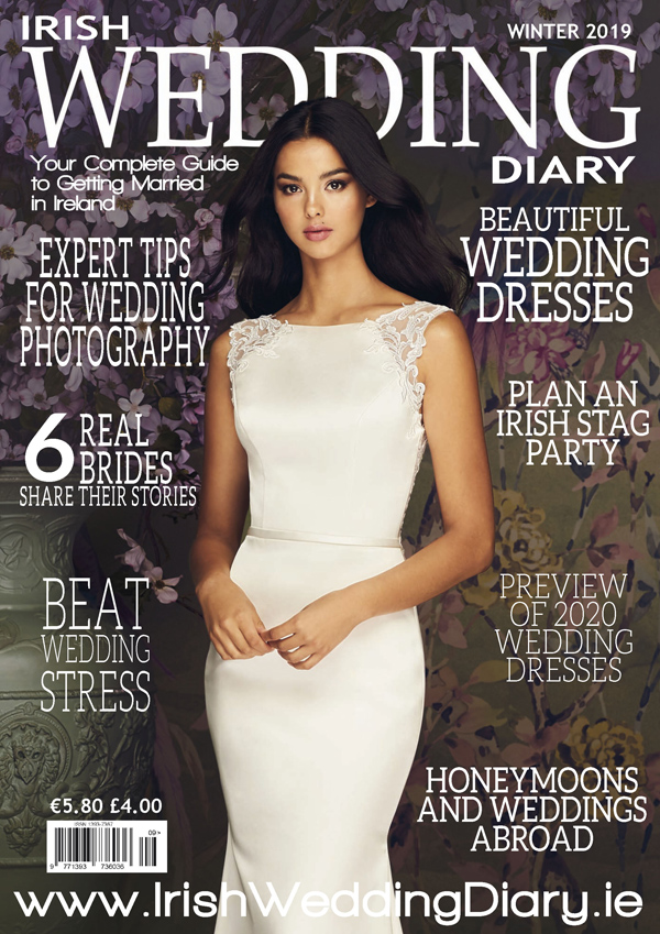 Irish Wedding Diary Magazine Winter 2019 Cover