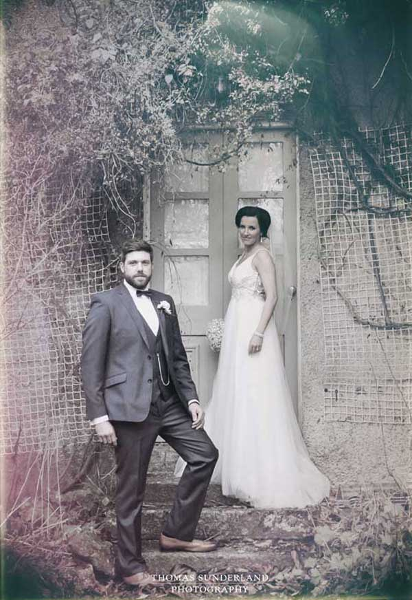 Thomas Sunderland Photography Bride and Groom old style