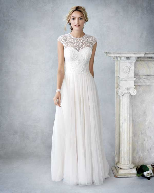 Kenneth Winston Wedding Dress - BE425