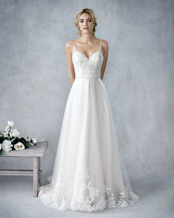 Kenneth Winston Wedding Dress - BE 426
