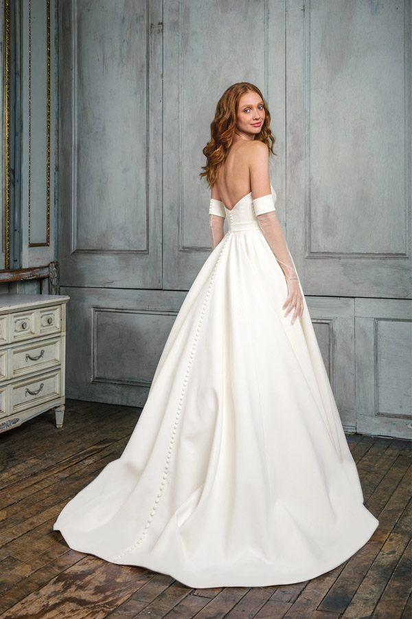 JA Signature Wedding Dress Style 99003_FB