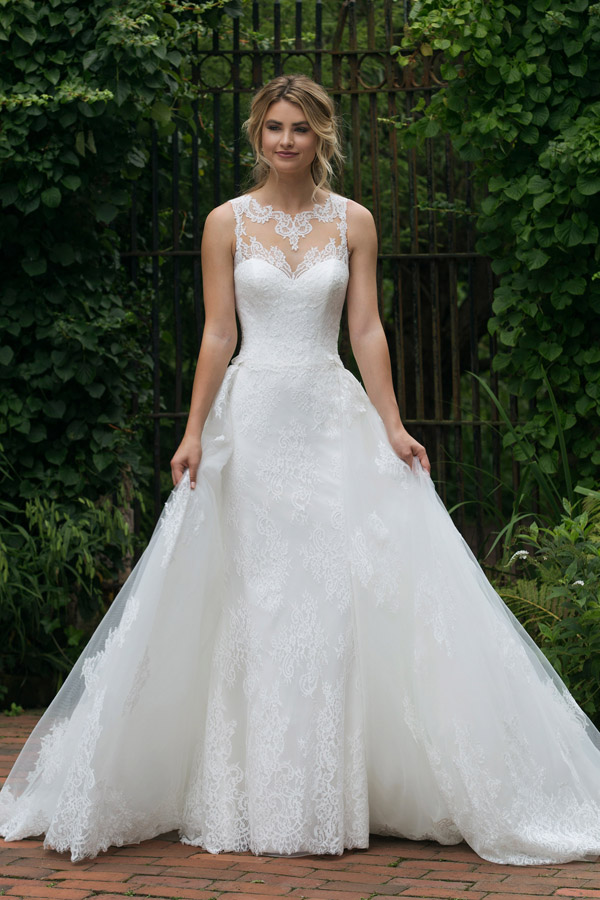 Sincerity Bridal Wedding Dress Style 44042_FF