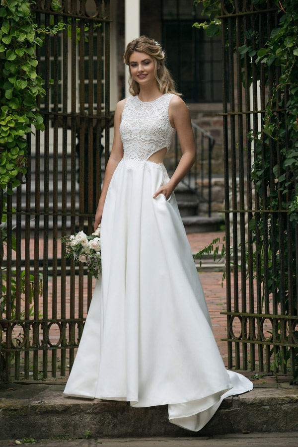 Sincerity Bridal Wedding Dress Style 44044