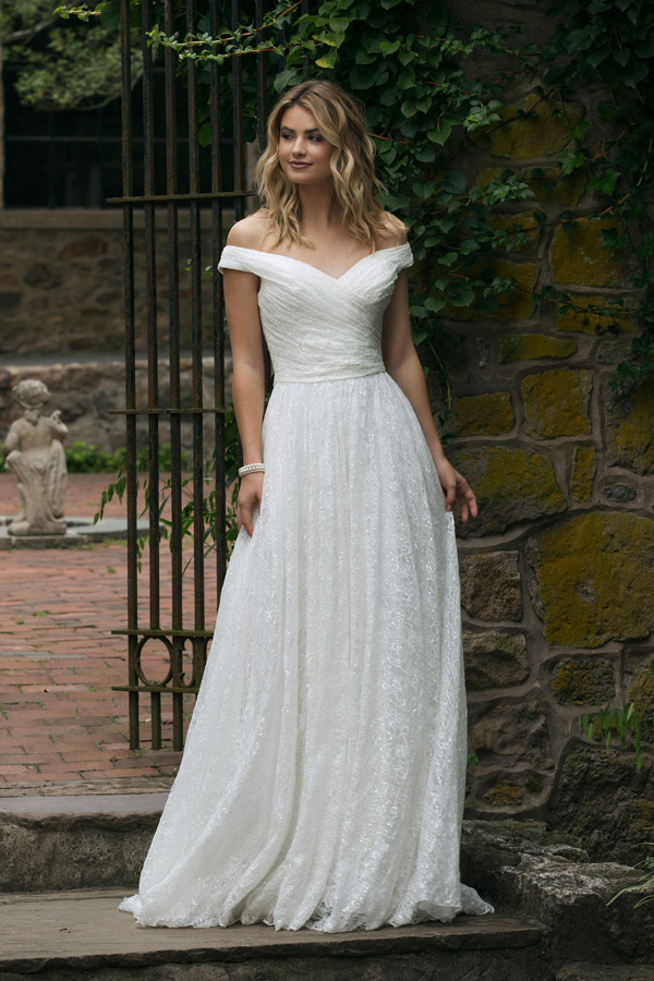 Sincerity Bridal Wedding Dress Style 44049