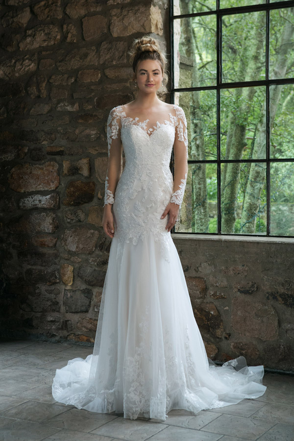 Sincerity Bridal Wedding Dress Style 44057
