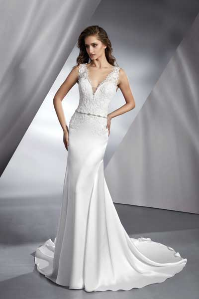 Tamem Michael Wedding Dress - Blue