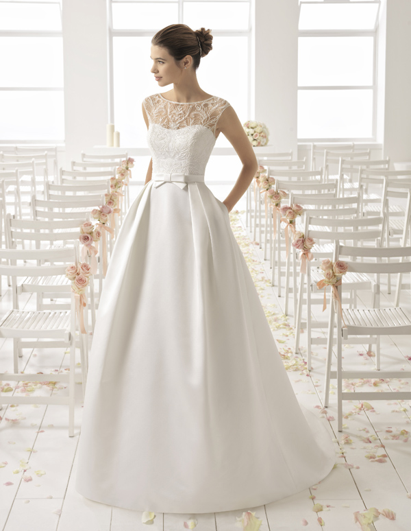 Aire Barcelona Wedding Dress Blondy