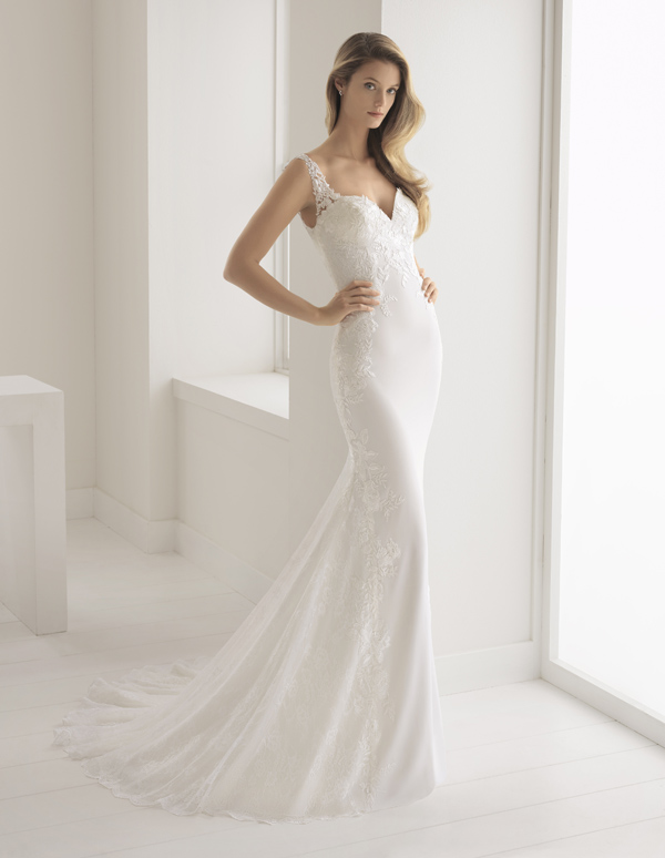 Aire Barcelona Wedding Dress Buleria