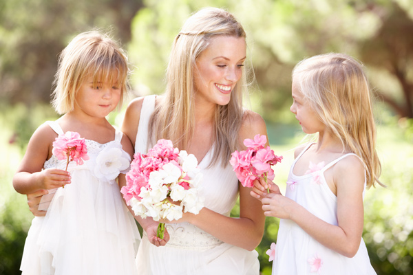 Flower Girls at Wedding Image