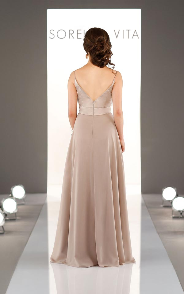 Sorella Vita Bridesmaid Dress 9088 Back
