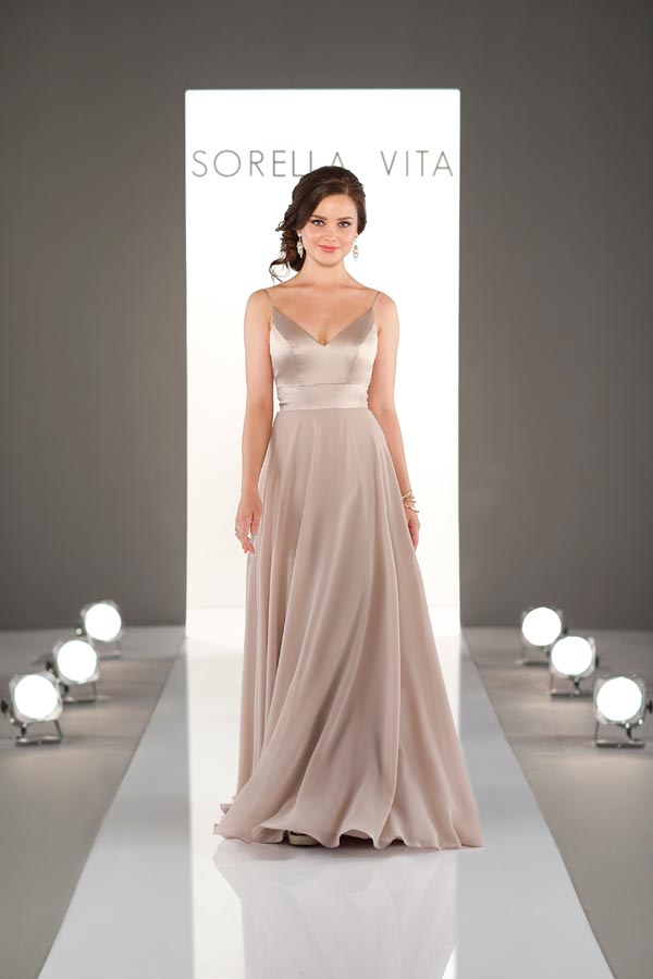 Sorella Vita Bridesmaid Dress 9088