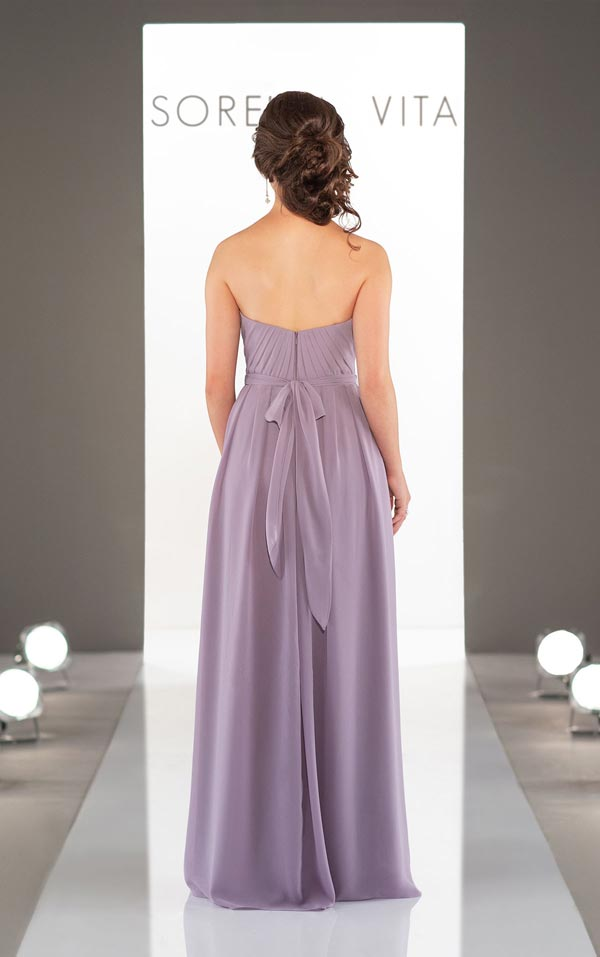 Sorella Vita Bridesmaid Dress 9114 Back