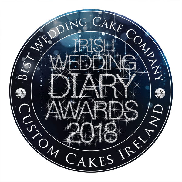 Custom Cakes Ireland - Best Wedding Cakes- Irish Wedding Diary Awards 2018