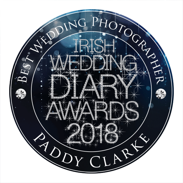 Paddy Clarke - Best Wedding Photographer - Irish Wedding Diary Awards 2018
