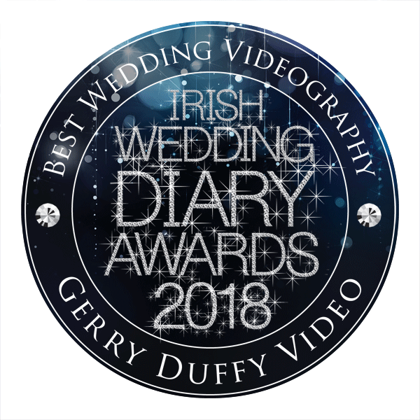 Gerry Duffy - Best Wedding Videographer - Irish Wedding Diary Awards 2018