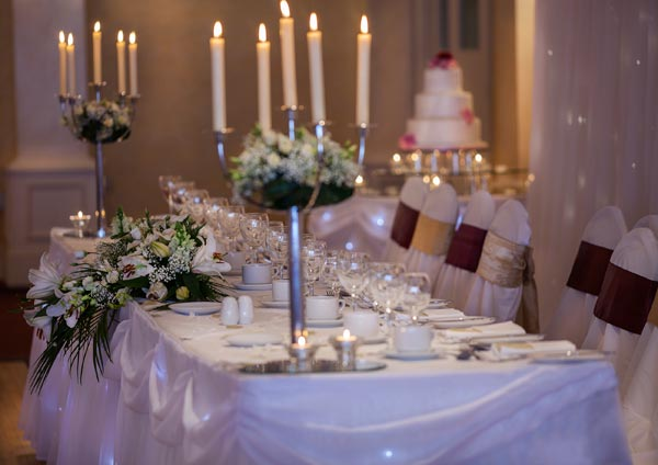Castle Arch Hotel Top Table