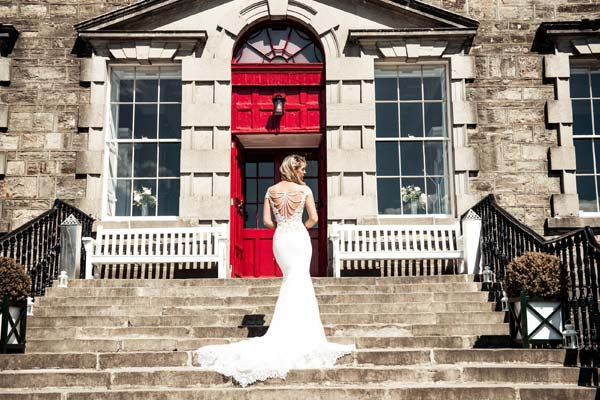 Bellinter House Wedding Dress Photoshoot