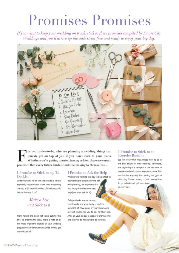 Irish Wedding Diary Magazine Summer 2019 - Wedding Planning