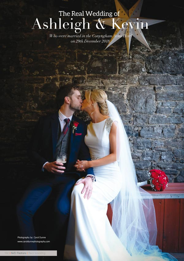 Irish Wedding Diary Magazine Summer 2019 - Real Wedding 2