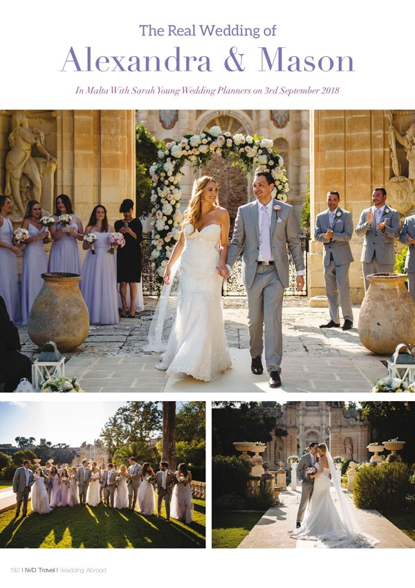 Irish Wedding Diary Magazine Summer 2019 - Wedding Abroad