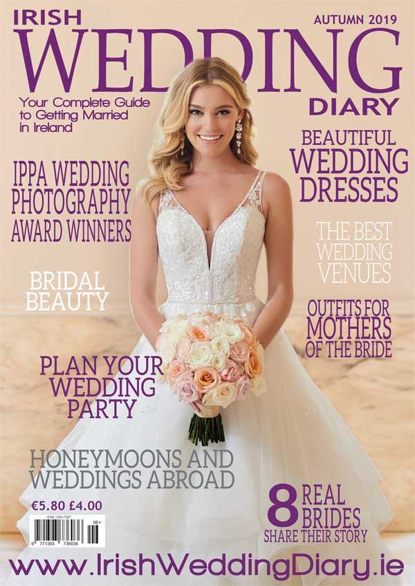 Irish Wedding Diary Magazine Autumn 2019 Cover