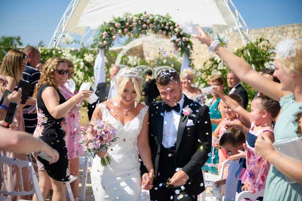 Sarah Young Real Wedding in Malta Confetti